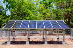 Household Solar Energy for Household Electrical Supply. Royalty Free Stock Photos