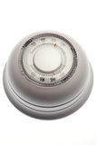 Household thermostat isolated on a white Royalty Free Stock Images
