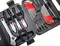 Household tool kit Stock Photography