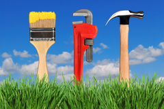 Household Tools Royalty Free Stock Images