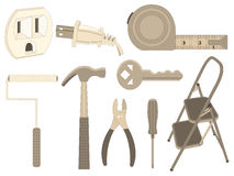 Household Tools Stock Images