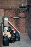 Household trash Stock Photography