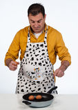 Househusband in trouble Royalty Free Stock Photography
