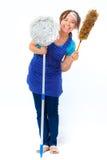 housekeeper Foto de archivo libre de regalías