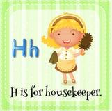 housekeeper illustration de vecteur