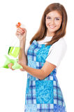 Housekeeper isolated portrait Royalty Free Stock Photography