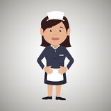 Housekeeper woman design Royalty Free Stock Photography