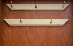 Housekeeper wood box background Stock Image