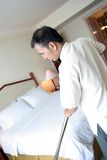 Housekeeping in action Stock Photography