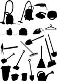 Housekeeping And Garden Implem Stock Image