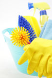 Housekeeping equipments Royalty Free Stock Images