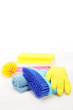 Housekeeping equipments Stock Photo