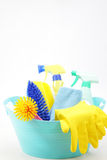 Housekeeping equipments Royalty Free Stock Photos
