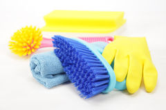 Housekeeping equipments Stock Photography