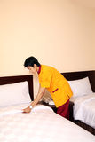 Housekeeping Or Room Boy Staff Royalty Free Stock Image
