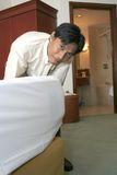 Housekeeping Or Room Boy Staff Stock Photography