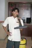 Housekeeping Or Room Boy Staff Stock Image