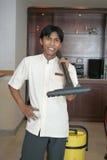 Housekeeping Or Room Boy Staff stock image