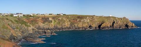Housel Bay Cornwall England Stock Photos