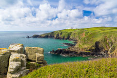 Housel Bay Cornwall England Stock Photo