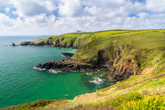 Housel Bay Cornwall England Royalty Free Stock Photo