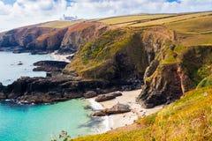 Housel Bay Cornwall England Stock Images