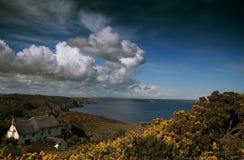 Housel Bay Lizard Cornwall Stock Photo