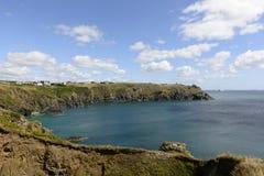 Housel bay at Lizard point, Cornwall Royalty Free Stock Photo