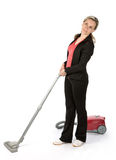 Housemaid Stock Photo