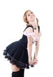 Housemaid atrativo novo fotos de stock royalty free