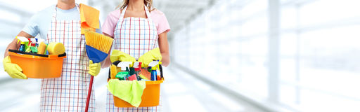 Housemaid. Stock Images