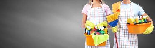Housemaid. Royalty Free Stock Photo