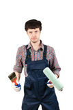 Housepainter Stock Photography