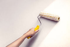 Housepainter Royalty Free Stock Images
