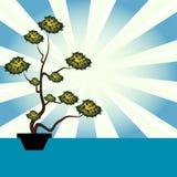 Houseplant illustration de vecteur