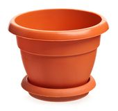 Houseplant pot Royalty Free Stock Photo