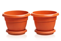 Houseplant pots Stock Images