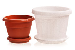 Houseplant pots Royalty Free Stock Photos