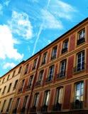 Houses. And blue sky Stock Photos