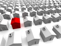 Houses Royalty Free Stock Photography