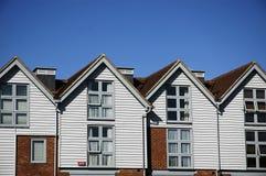 Houses. Nikon D70 nikkor AF 18-55 Stock Images
