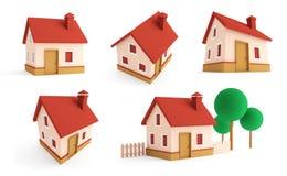 Houses. Stock Photo