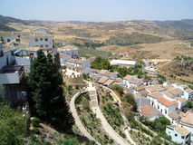 Zahara de la Sierra, Spain Royalty Free Stock Image
