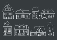 Houses Stock Photography