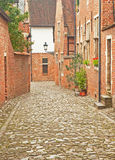 Houses. In the old town of Leuven, Belgium Royalty Free Stock Image