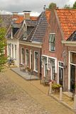 Houses. Authentic brick houses in Europe Royalty Free Stock Photo