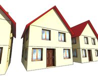 Houses Royalty Free Stock Photo