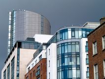 Houses. Modern architecture Royalty Free Stock Image