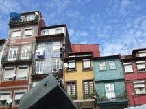 Houses. In Porto in Portugal Stock Image
