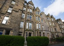 Houses. Typical Edinburgh houses. Sciennes area, Edinburgh (Scotland Stock Photo